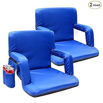 Portátil estadio asiento silla, cojín acolchado de asiento ...