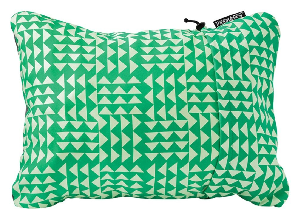 """Therm-a-Rest Compressible Travel Pillow for Camping, Backpacking, Airplanes and Road Trips, Pistachio, Small: 12"""" x 16"""""""