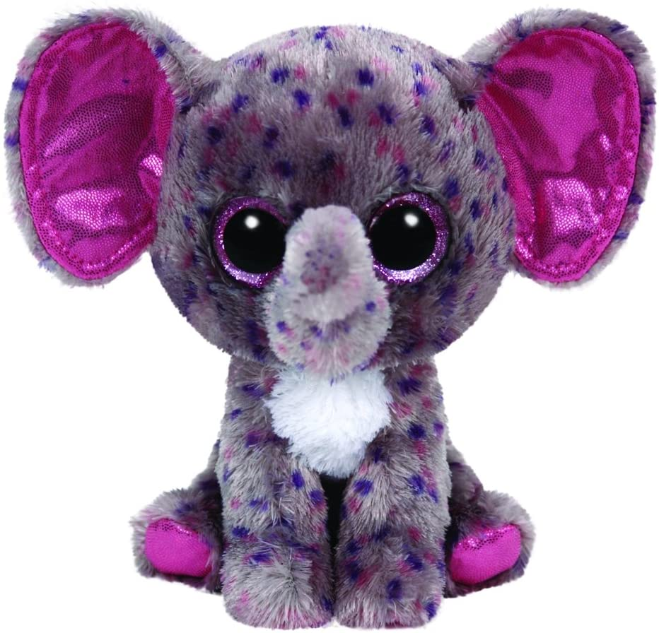 TY - Specks, peluche elefante, 15 cm, color gris (36156TY): Amazon.es: Juguetes y juegos