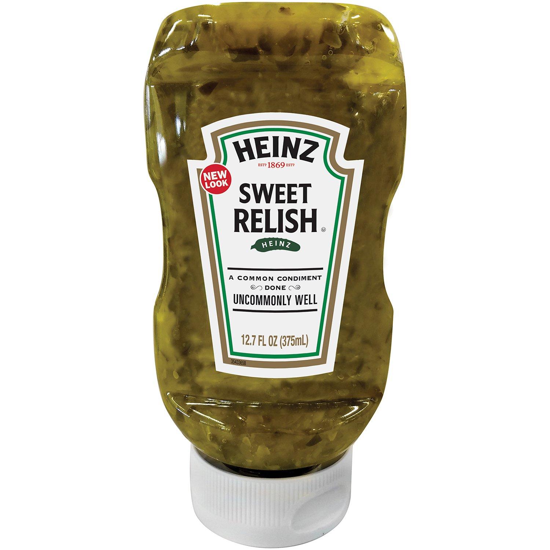 Heinz Sweet Relish, Squeeze Bottle, 12.7 Ounce