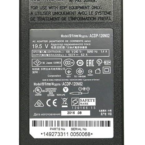 szhyon 19.5V 6.2A 6.0 * 4.4mm 120W Adaptador de CA Cargador ...