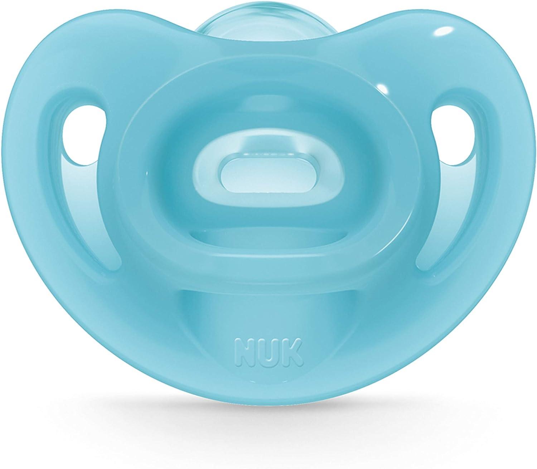 6-18 Months Boy NUK 2-Piece Sensitive Orthodontic Pacifiers