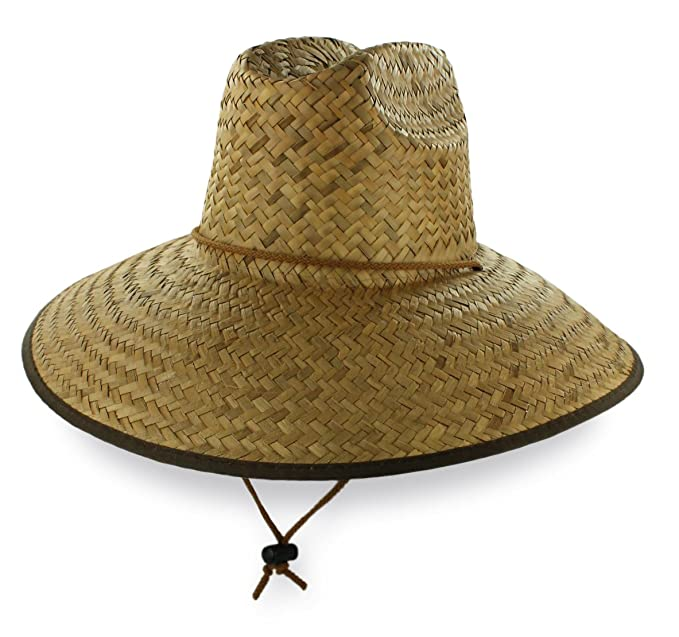 f459fae45772f Dorfman Pacific California Lifeguard Straw Beach Hat