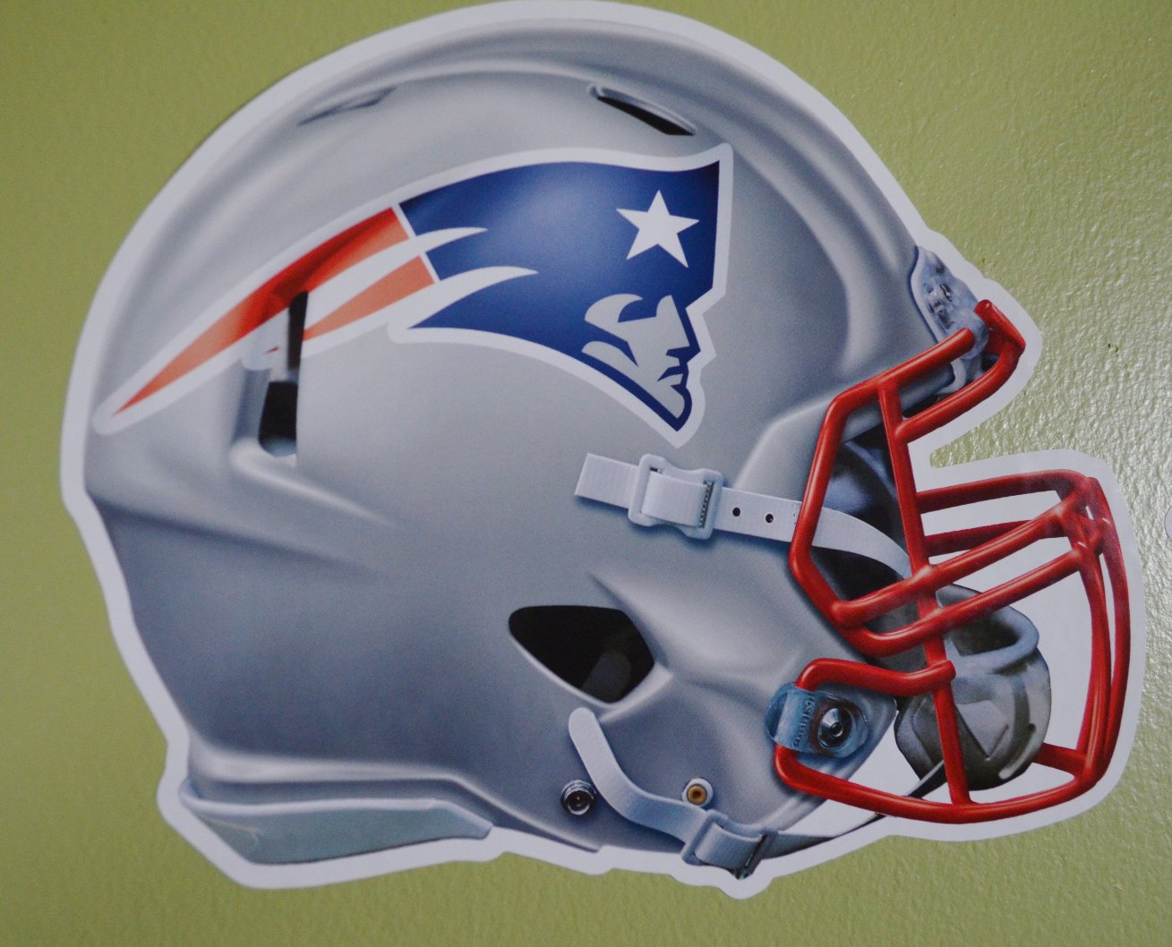 New England Patriots WinCraft Official National Football League Fan Shop Licensed NFL Shop Multi-use Decals