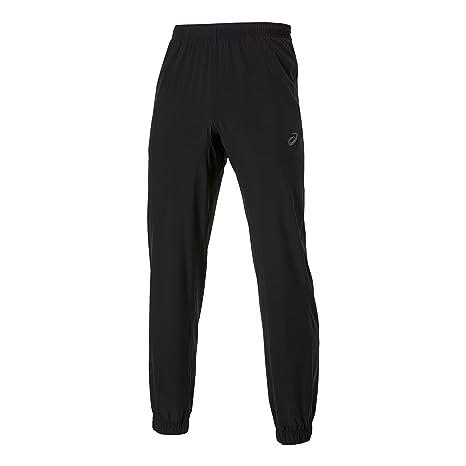 ASICS Pantalones de chándal para Hombre, Color Negro, Negro, Small ...