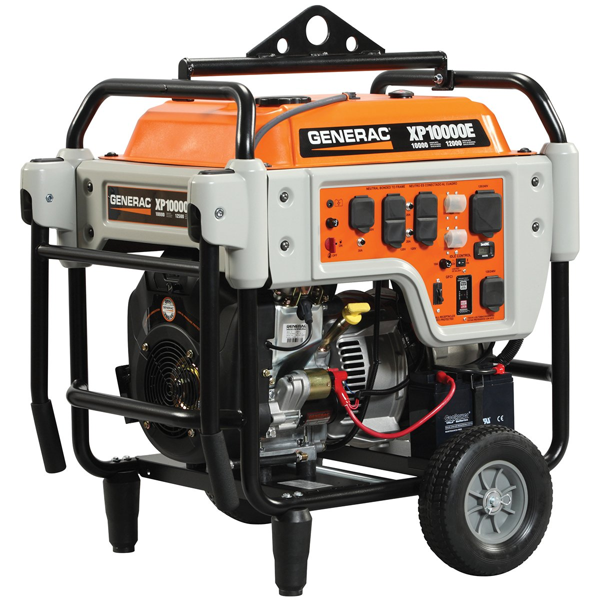 Generac 10000 Watt Generator >> 10 000 Watt Gasoline Electric Portable Generator