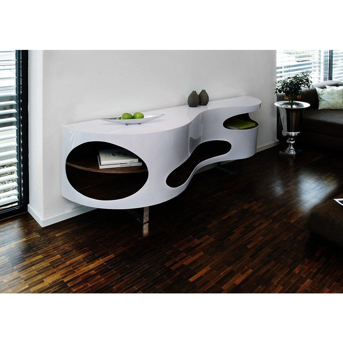 salesfever sideboard wei walnuss gro tchouc g nstig. Black Bedroom Furniture Sets. Home Design Ideas