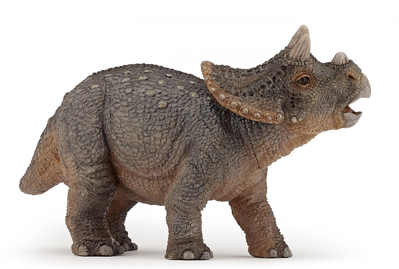 amazoncom papo baby triceratops figure toys games
