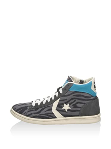 Converse Hightop Sneaker Pro LP Mid Can Zip PRI Grau/Carbon EU 36.5