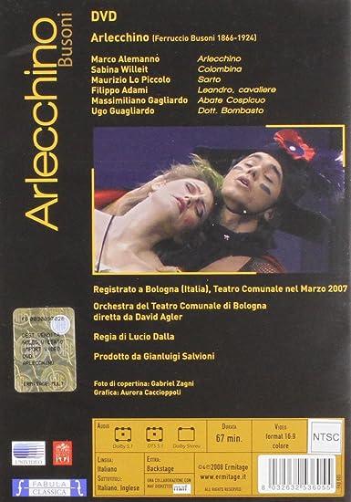 Amazon.com: arlecchino dvd Italian Import: dean cain, eric roberts ...