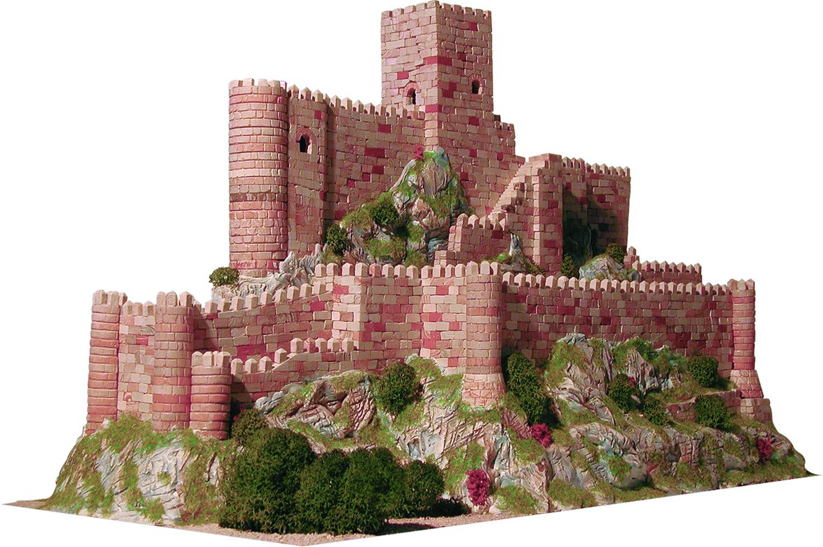Aedes - Maquettes Ceramic Model - Castle of Almansa, Spain