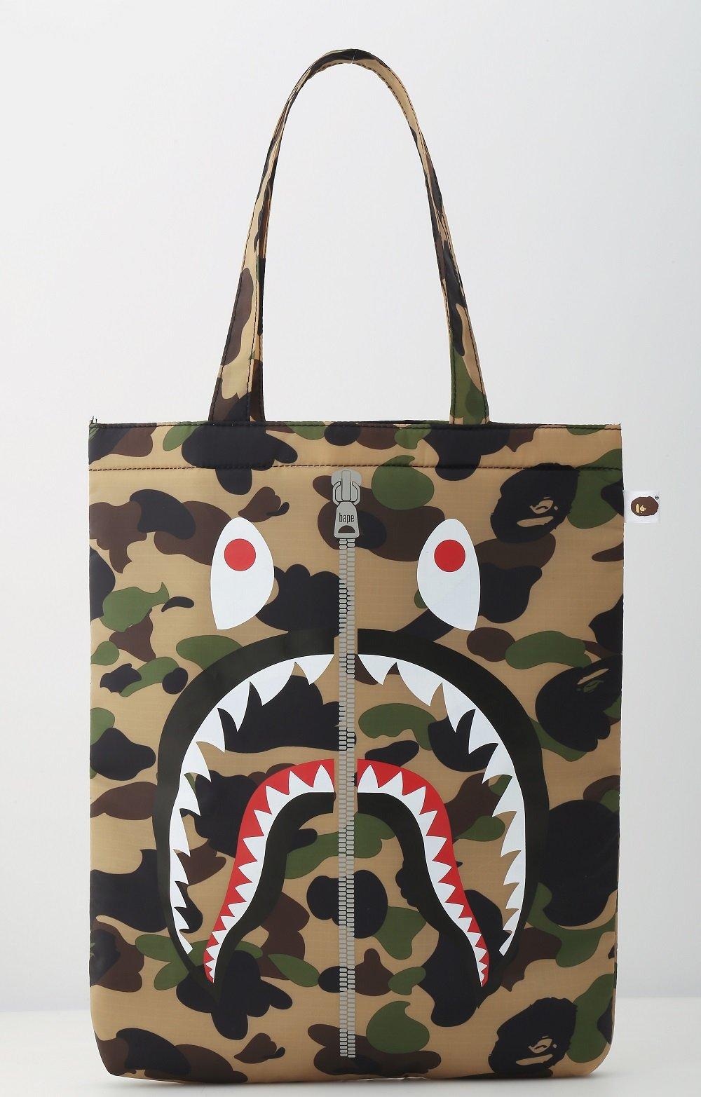 d8afc2f91f57 Mackenzie Navy Shark Camo Backpacks
