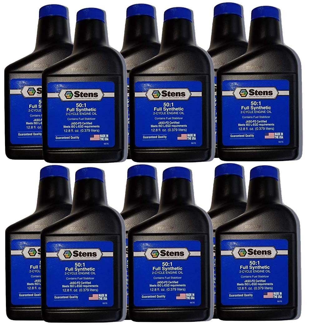 Stens 770-261 50:1 2-Cycle Oil Mix Syn Blend Pack of 12