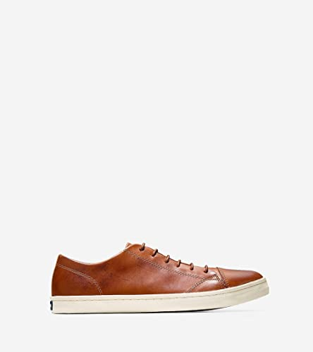 e8e1964c Amazon.com   Cole Haan Men's Trafton Cap Sport Ox P114604 Fashion Sneaker  British Tan Handstain 8 M US   Fashion Sneakers