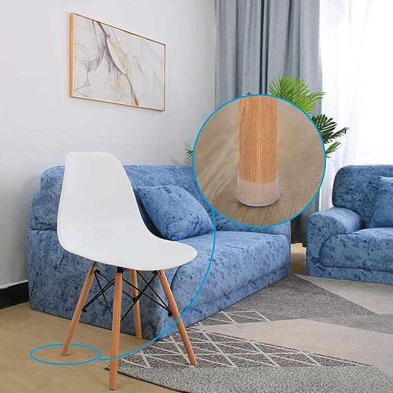 uxcell - Protector de suelo antideslizante para silla de ...