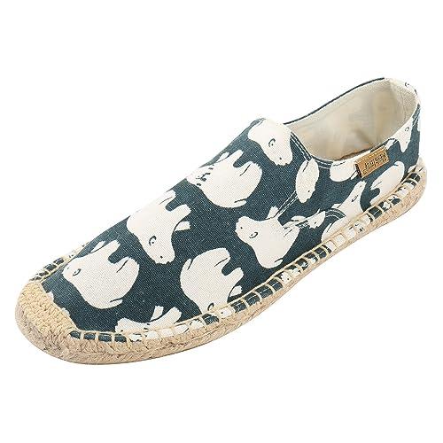 Alexis Leroy Causal, Alpargatas Original de lona para mujer Azul 37 EU: Amazon.es: Zapatos y complementos