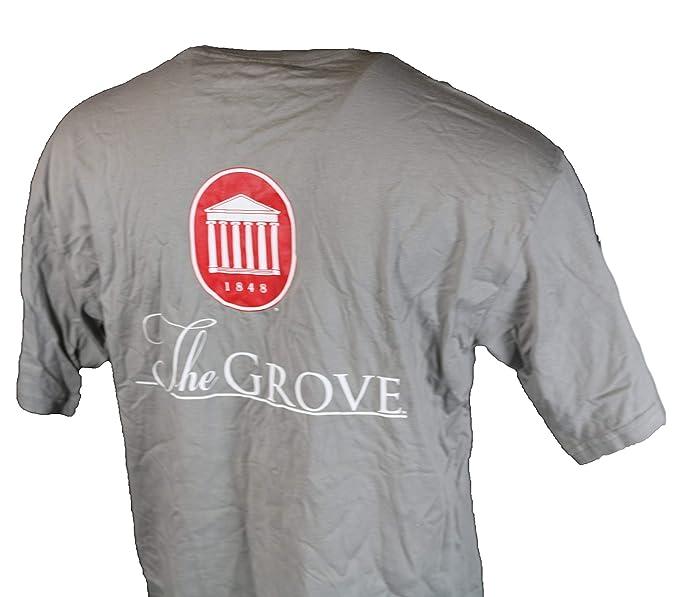 Amazon Com Ole Miss Signature T Shirt Grey Clothing
