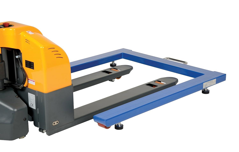 6000 lbs Capacity Vestil VPU-6 U Shaped Platform Scale 4-3//4 Height Steel
