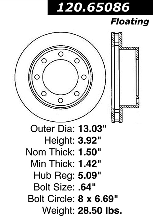 Amazon Com Power Slot 126 65086csl Slotted Brake Rotor Automotive