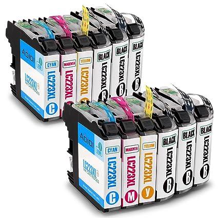 Aoioi Compatible Brother LC223 Cartuchos de tinta (6 Negro, 2 Cian, 2 Magenta, 2 Amarillo), Alta Capacidad, Compatible con Brother DCP-J562DW ...