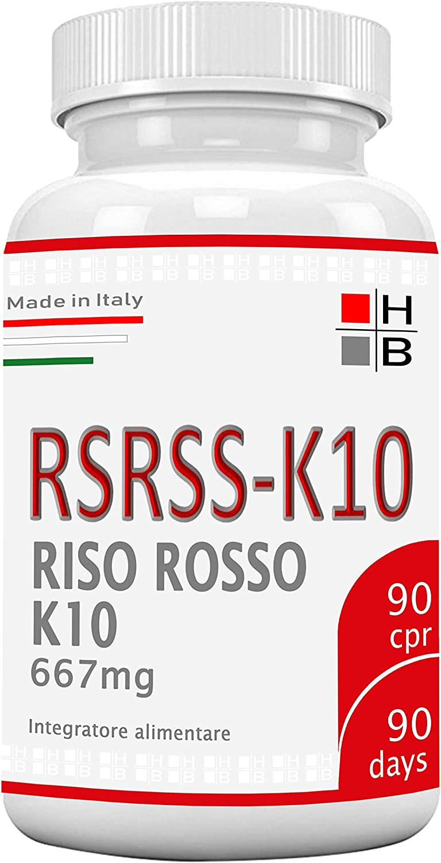 H|B RSRSS-K10 ARROZ ROJO K10 Fermentado - 90 tabletas ...