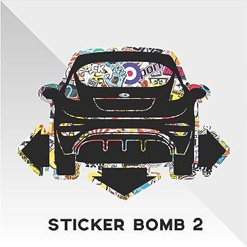 Erreinge Sticker Ford Fiesta Sticker Bomb Down And Out Dub