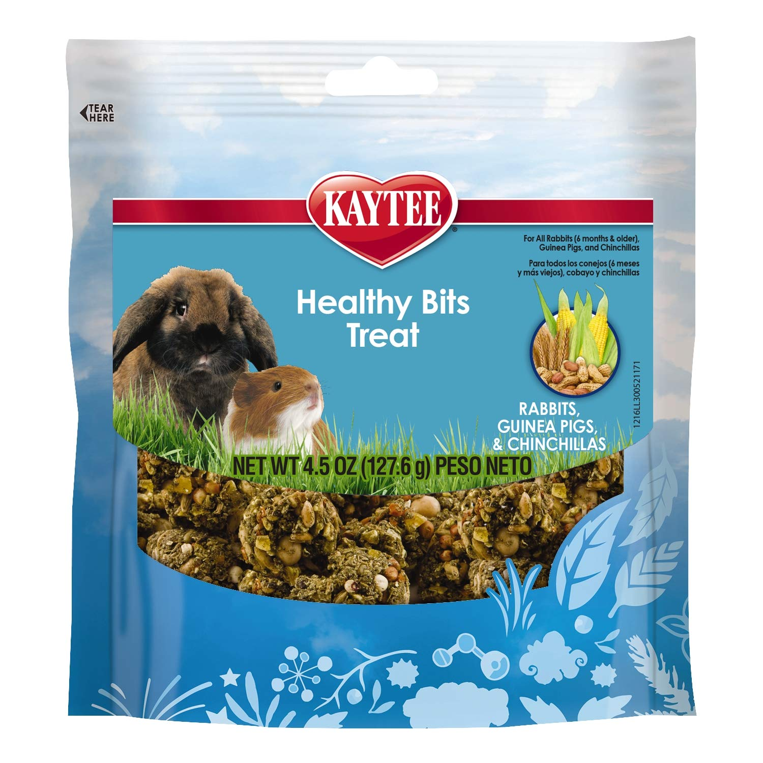 Kaytee Healthy Bits Rabbit, Guinea Pig And Chinchilla Treat
