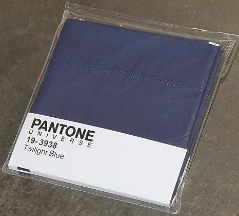 PANTONE FUNDA by BASSETTI 19-3938 TWILIGHT AZUL LISO 50 x 80 ...