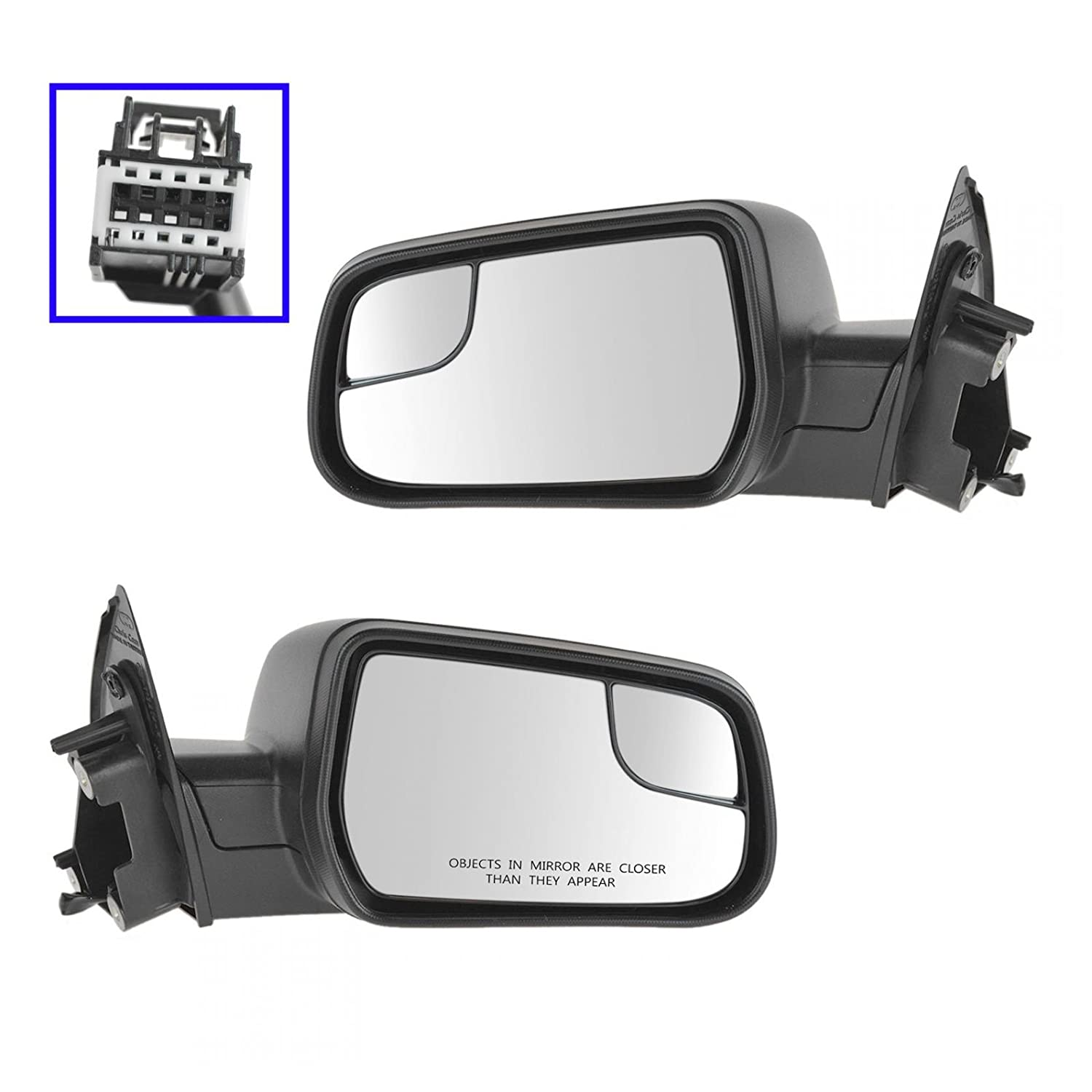 Full Adhesive For 12-14 Chevy Equinox Passenger Side Mirror Glass Replacement
