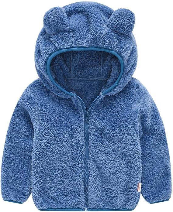 XXYsm Baby Mantel M/ädchen Kinder Coat Herbst Winter Jacke Warme Outwear Reine Farbe Parka