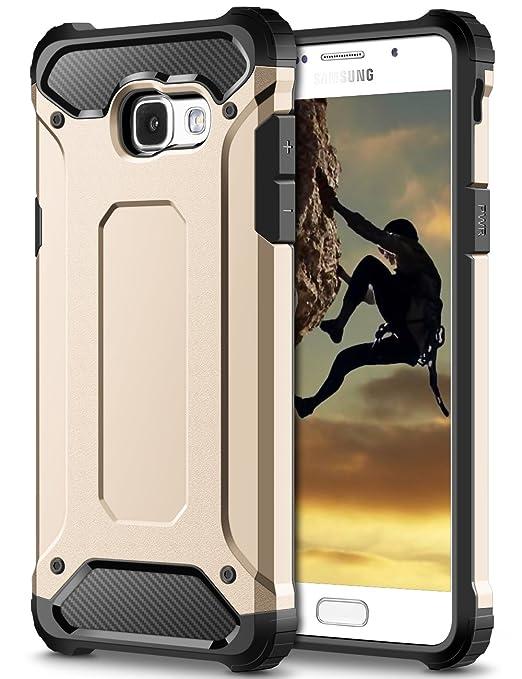16 opinioni per Cover Samsung Galaxy A5 2017, Coolden® Hybrid Dual Layer Armor Protezione Soft