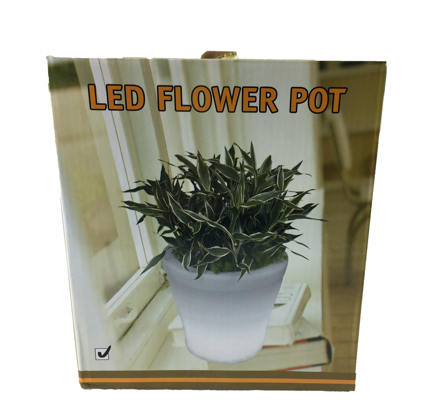 Amazon Instapark Flower Power Color Changing Led Plant Pot