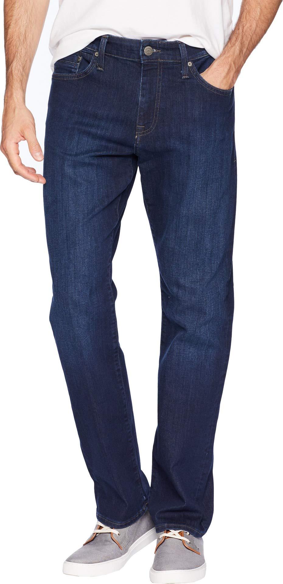Mavi Jeans Men's Matt Relaxed Straight Leg in Deep Clean Comfort Deep Clean Comfort 34 34