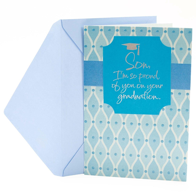 Amazon Hallmark Graduation Greeting Card For Son Graduation
