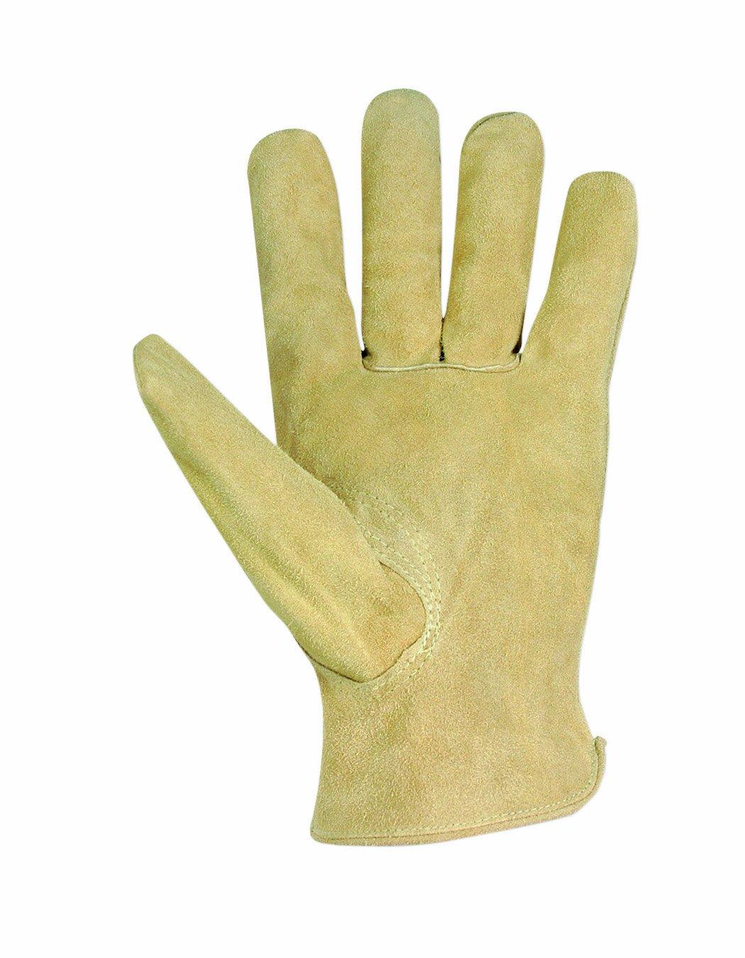 3pk wolverine leather work gloves extra large - Custom Leathercraft 2055m Split Cowhide Work Gloves Medium Leather Work Gloves Amazon Com