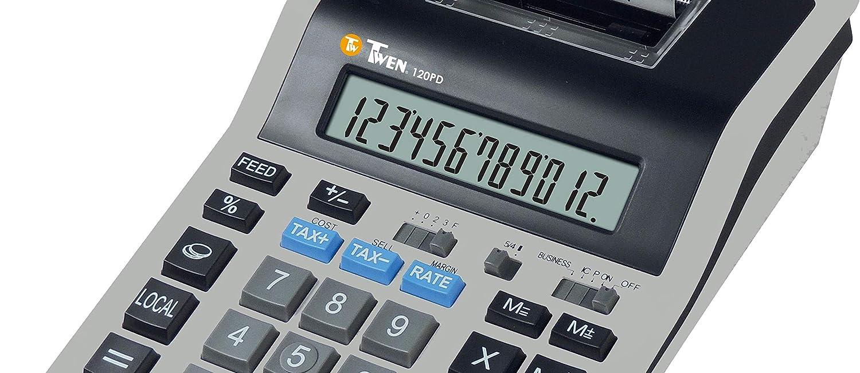TWEN 120 PD Calculadora (Impresora: Amazon.es: Oficina y papelería