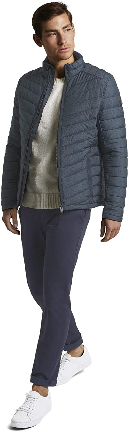 Tom Tailor Light Weight Jacket Homme 23899 - Blue Stroke Design