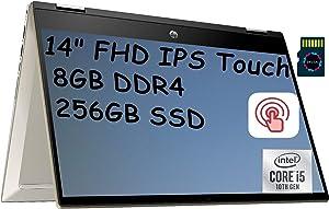 HP Pavilion X360 2 in 1 Premium 2020 Business Laptop I 14