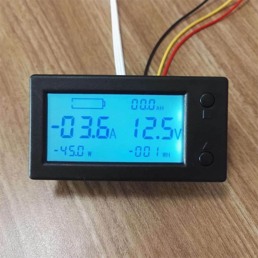 AiLi Battery Monitor DC 300V 100A Voltmeter Ammeter Voltage Amp ...