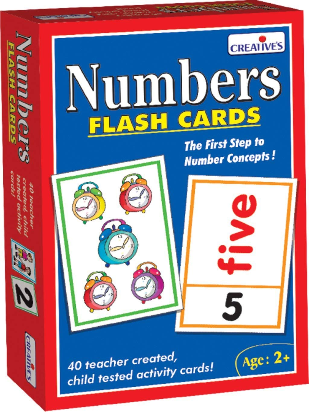 Creative Pre-School - Number- Flash Cards - (Cre0520) Creative Educational
