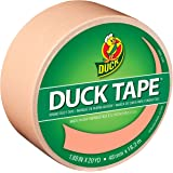 Duck Brand 240978 Color Duck Tape, Just Peachy, 1.88-Inch by 20 Yards, Single Roll