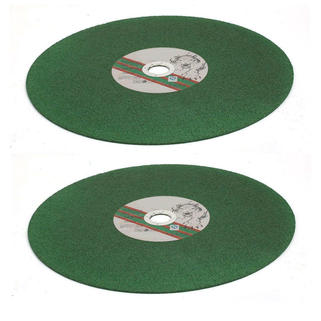 uxcell 400mmx32mm Cutting Wheel Grinding Cut Off Tool Green 3pcs