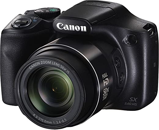 Canon PowerShot Digital Camera 20.3MP, 50x Optical Zoom, Memory Card