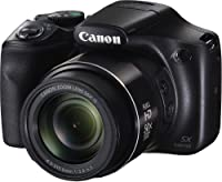 Canon PowerShot SX540HS 20.3MP Digital Camera with 50x Optical Zoom (Black) + Memory Card + Camera Case