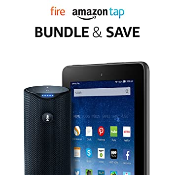 Fire Tablet, 7? Display, 16 GB - includes Special Offers + Amazon Tap $119.98 at  amazon.com + FS online deal