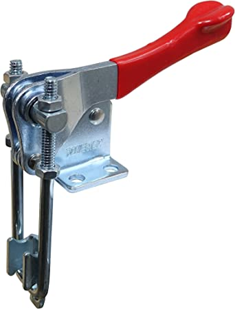 40341 POWERTEC 20306 Latch-Action Toggle Clamp 2000 lbs Capacity