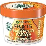 Garnier Fructis Hair Food Papaya Mascarilla 3 en 1-390 ml