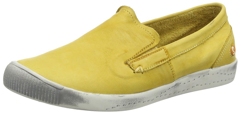 Softinos Damen Gelb Ita298sof Pumps Gelb Damen (Yellow) 9ba787