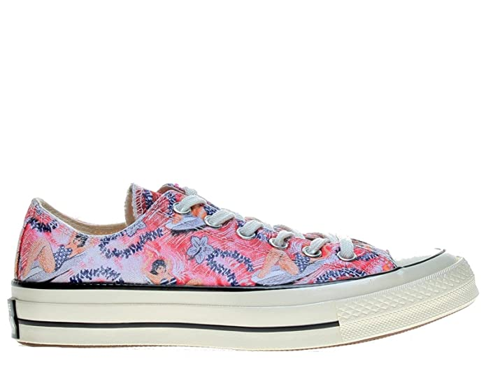 Converse Chuck Taylor (Chucks) All Star Ox Sneaker Unisex-Erwachsene Bunt (Hawaian Floral)