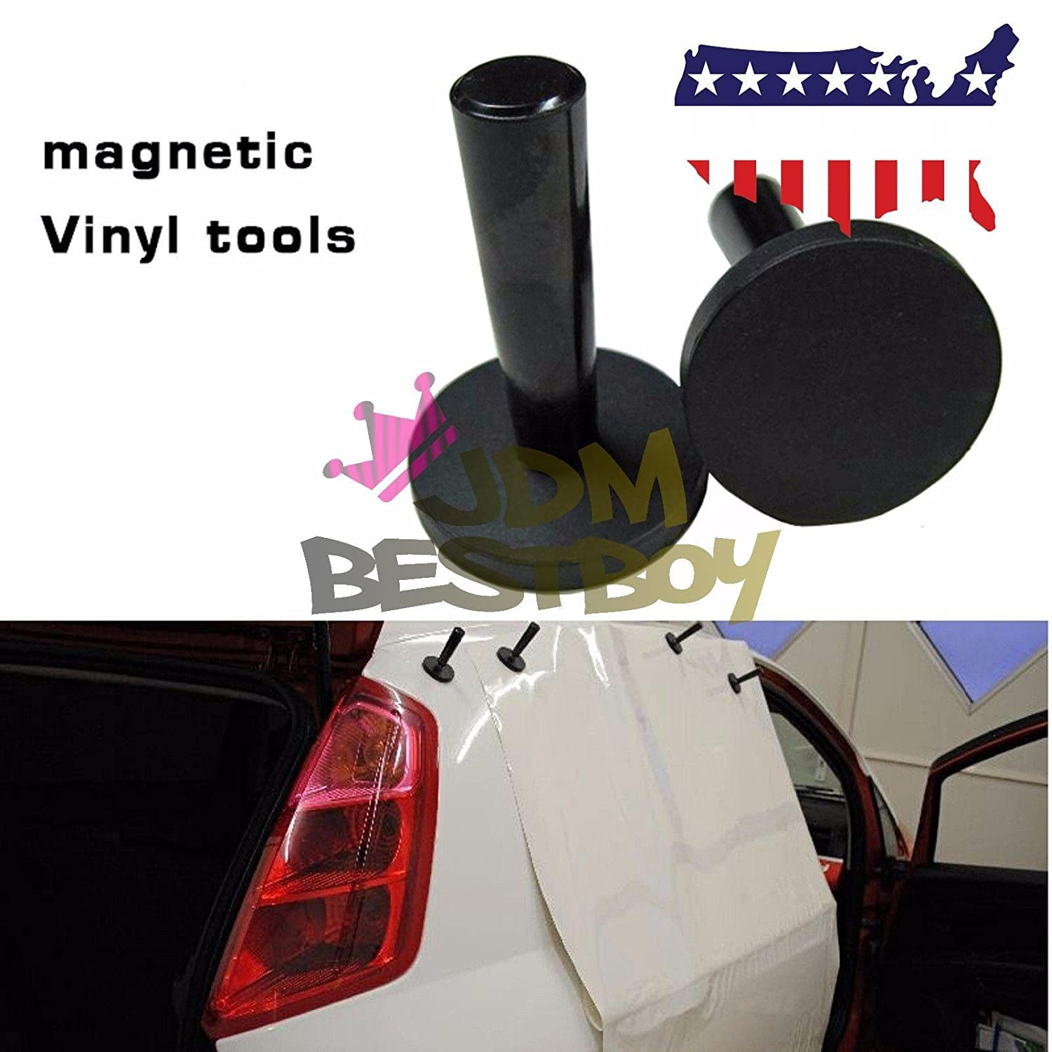 1pc Vehicle Car Wrap Gripper Magnets Sign making Graphic Vinyl Magnet Holder Professional Use JDMBESTBOY